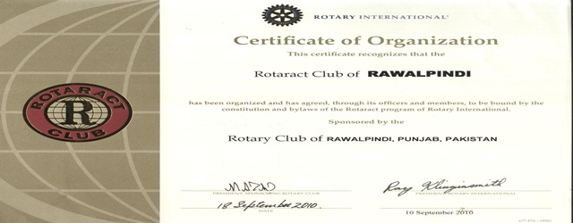 Rotaract Club of Rawalpindi