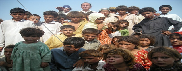 Eid with Flood Affected Children