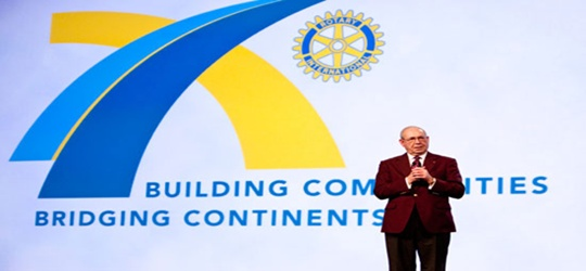 The RI president's February 2011 message – Rotary DNA!