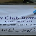 Rotary Club Rawalpindi – Relief work at Flood Affected Areas