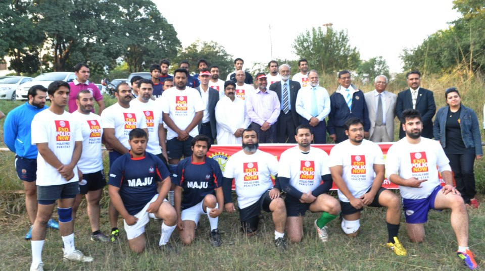 END POLIO NOW! Rugby Match