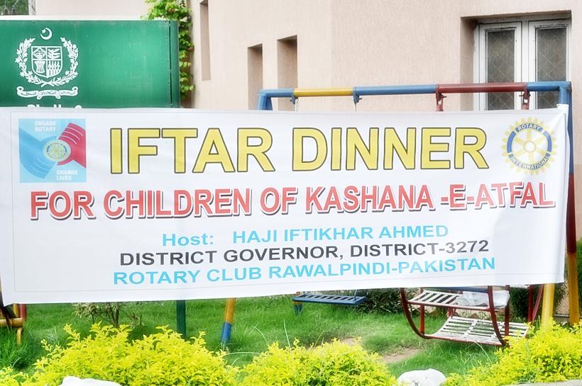 Iftar Dinner with Children of Kashana-e-Atfal, Rawalpindi