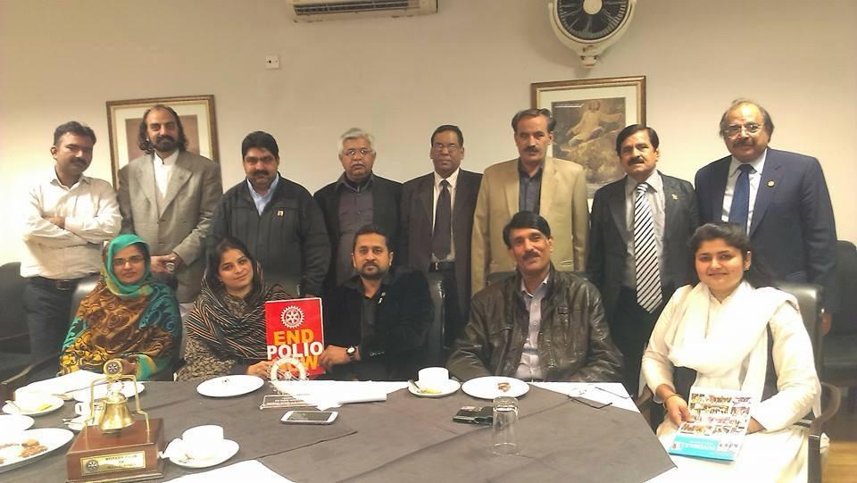 RC Rawalpindi – Polio Eradication Meeting