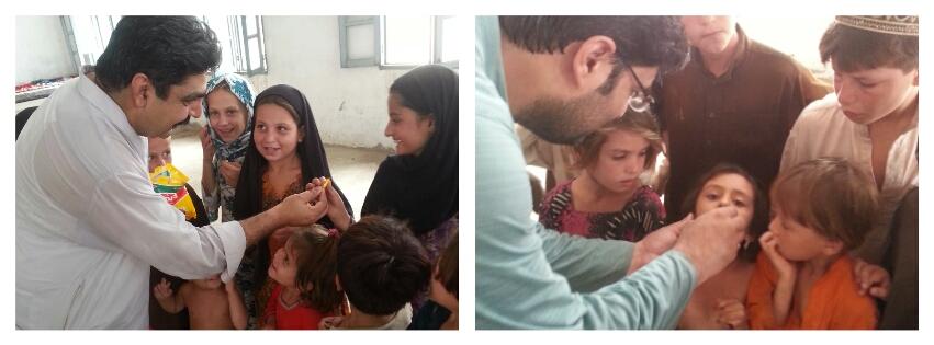 Helping The IDPs of Waziristan, Pakistan.