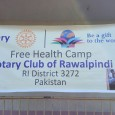Rotary Club of Rawalpindi organised a free Health Camp at Patan Sher Khan, Azad Patan, AJK on Sunday 15th November 2015. More than 750 patients including men,women and children...