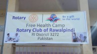 Rotary Club of Rawalpindi organised a free Health Camp at Patan Sher Khan, Azad Patan, AJK on Sunday 15th November 2015. More than 750 patients including men, women and children...