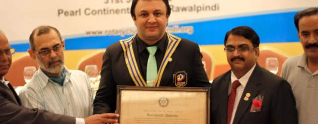 64th Installation Ceremony of Rotary Club of Rawalpindi was held on 31st July, 2016 at Pearl Continental Hotel, Rawalpindi. Chief Guest of the ceremony was Mian Humayun Pervez (President Rawalpindi...