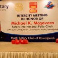 Intercity Meeting in honour of Michael K. McGovern was held on 29th June 2016 at PC Hotel Rawalpindi hosted by Rotary Club of Rawalpindi. Ms. Carol Pandak, Rtn. Judith Diment, DG  Sajid […]