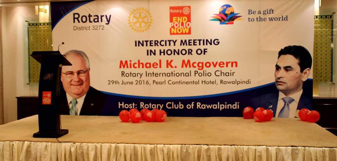 Intercity Meeting – Michael K. McGovern