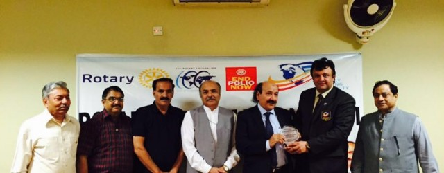 Special Guest Speaker meeting of Rotary Club of Rawalpindi was held at Rawalpindi Gymkhana on 29th August 2016. Renowned Scholar Mr. Bahrullah Hazarvi was the Guest Speaker. He shared his...