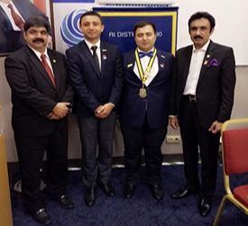 RC Baku Khazar – District 2430 Azerbaijan Visit