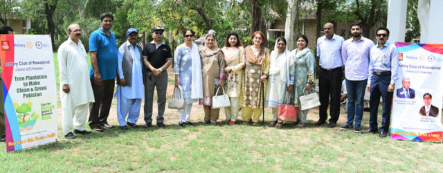 "Rotary Club Rawalpindi undertook three (03)pilot projects of Tree Plantation supplementing GOP's ongoing efforts for ""Clean & Green PAKISTAN "" on 2nd August, 2019.Sites selected were ;1.SOS Girls School 2. SOS Technical […]"