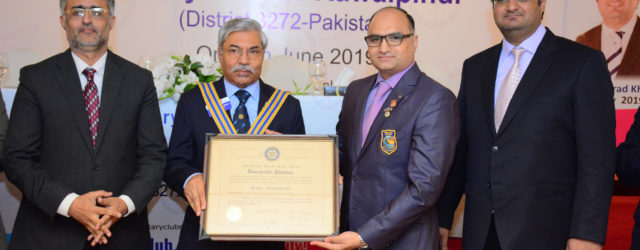 67th Installation Ceremony of Rotary Club of Rawalpindi was held at Pearl Continental Hotel, Mall Road, Rawalpindi on 29th June, 2019. Mr. Shahid Saleem Malik (President Rawalpindi Chamber of Commerce […]